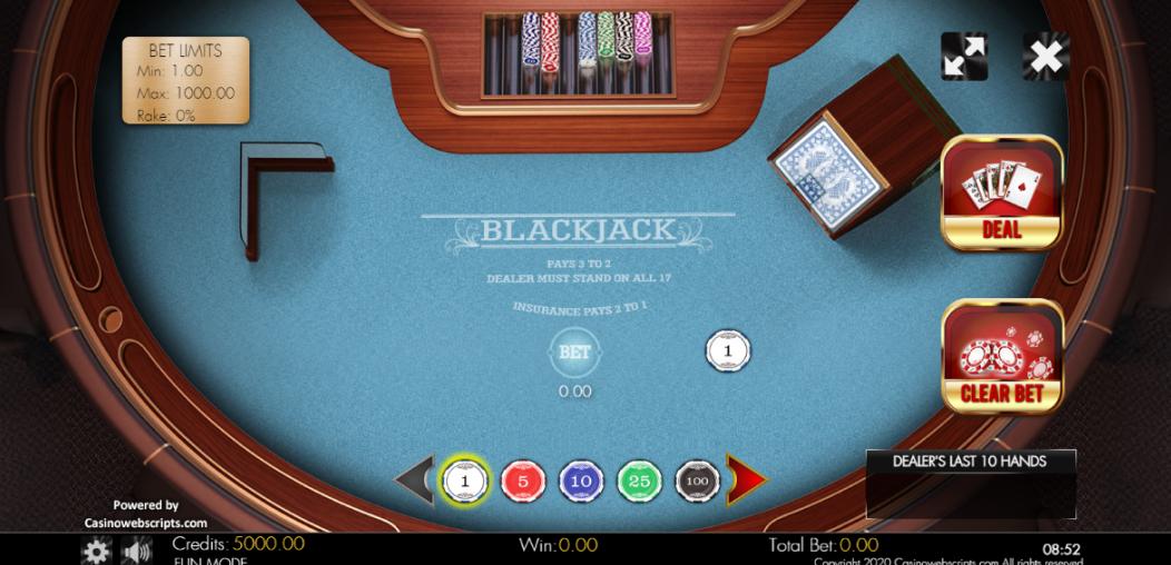 Blackjack ဂန္